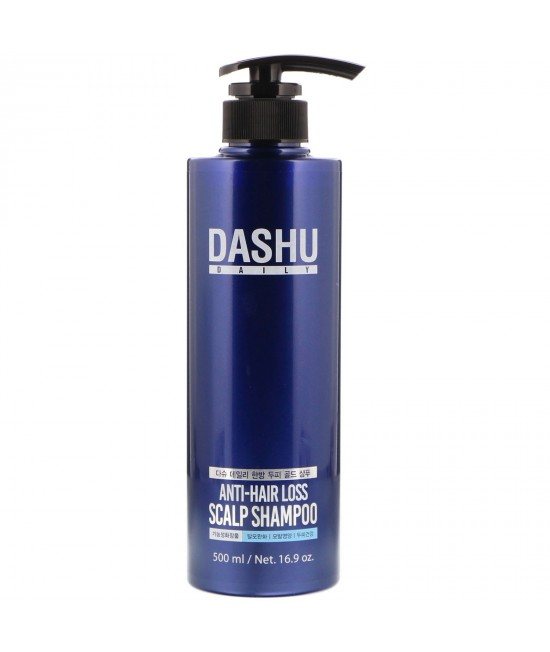 Dashu, Anti-Hair Loss Scalp Shampoo, 16.9 oz (500 ml)