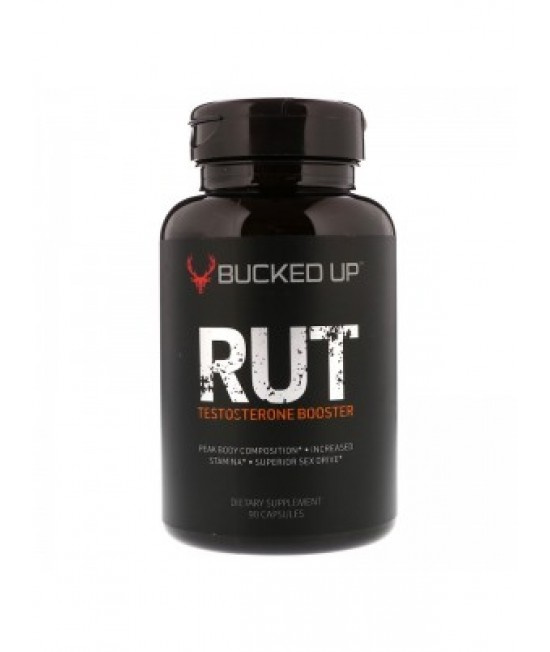 Bucked Up, RUT, Testosterone Booster, 90 Capsules
