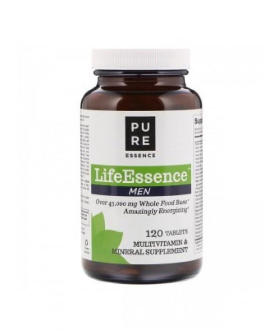 Pure Essence, LifeEssence Men, 120 Tablets