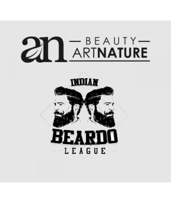 Artnatural, 100% Natural, Beard & Stache Balm, Beardo Beard Balm - net 50 g  gross 60 G